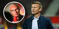 Bullen-Coach Marsch lässt ORF-Mann Pariasek auflaufen