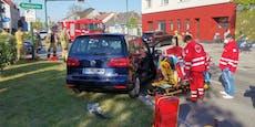 Schaulustige stören Rettungskräfte bei Crash in NÖ