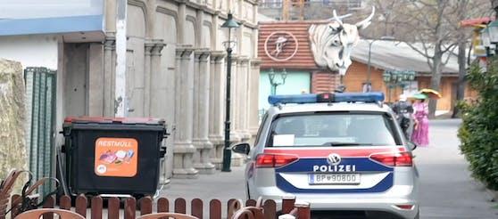 Polizeieinsatz im Prater:Sonntagabend kam zu einer heftigen Auseinandersetzung zwischen zwei Männern. (Symbolfoto)