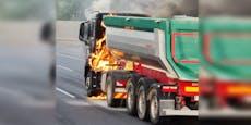 Verkehrskollaps in Wien nach Lkw-Explosion auf Tangente