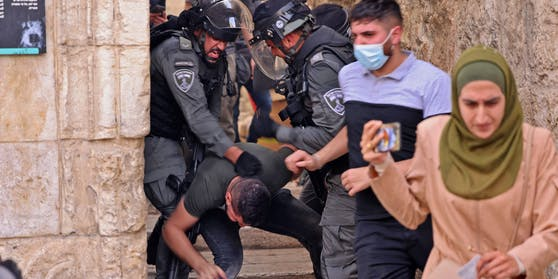 Hunderte Verletzte bei schweren Protesten in Jerusalem