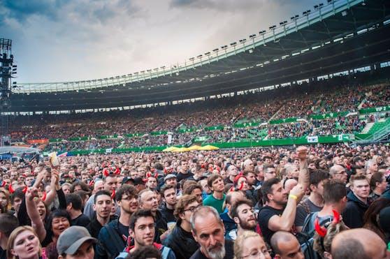 Szenen wie beim ACDC-Konzert vor fünf Jahren im Happel-Stadion wird es vorerst noch nicht geben.