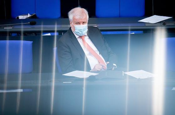 Bundesinnenminister Horst Seehofer hat Corona