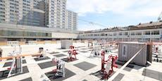 Sportlicher Hotspot im Freiluft-Gym am Wiener Heumarkt