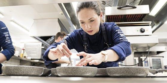 Sandra Scheidl konnte die Jury mit ihren Kochkünsten überzeugen.