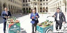 Gurkenhauptstadt Wien bekommt eignes Gemüse-Abzeichen
