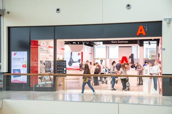 A1 eröffnet Österreichs größtes Guru Zentrum im neuen A1 Shop im Wiener Donau Zentrum.
