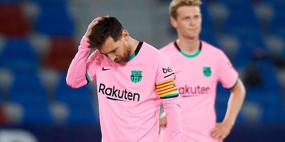 Lionel Messi könnte den Titel verspielt haben.