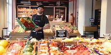 Erster lokaler Markt mit Bistro in Wiener City