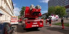Großer Feuerwehr-Einsatz in der Klinik Landstraße