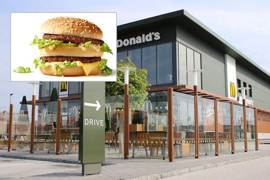 Der Big Mac Bacon ist nur für exklusive Mitglieder.