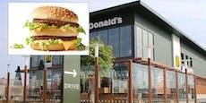 Wiener wurde Speck-Burger in Fast-Food-Lokal verweigert