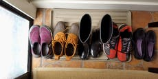 So viel Dreck tragen wir mit Schuhen in die Wohnung