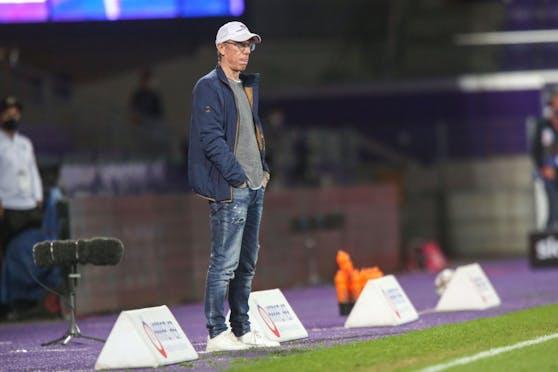 Sportboss und Trainer Peter Stöger.