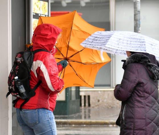 Regen und Wind begleiten uns durch den restlichen Mai.