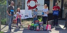 Ein Herz für Tiere! Volksschüler spendeten für Tierheim
