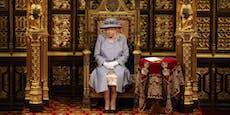 Prinz Philips Thron neben der Queen wurde entfernt