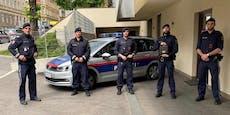 Polizisten retten Radler am Wiener Karlsplatz das Leben