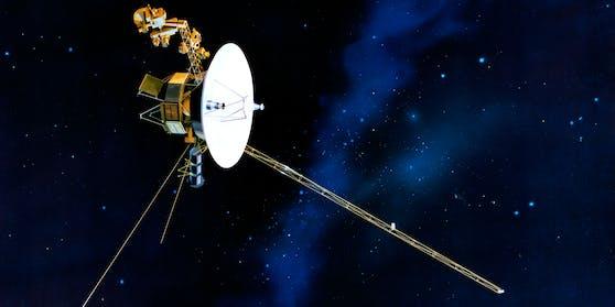 Die Raumsonde Voyager 1 liefert Einblicke in die Tiefen des Weltalls außerhalb unseres Sonnensystems.