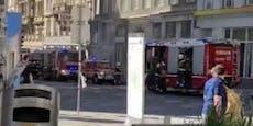 Starke Verrauchung bei Lagerraumbrand in Wien-Mariahilf