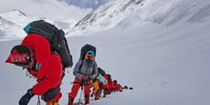 Sherpas sollen wegen Covid Sauerstoff vom Everest holen