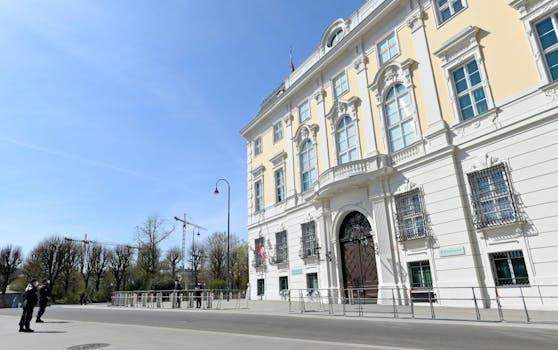 Das Bundeskanzleramt in Wien. (Archivfoto)
