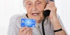 Bankkarte ging nicht mehr, Frau (73) musste hungern