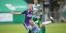 1:1 – kein Sieger im kleinen Wiener Derby