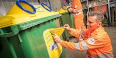 Grüne wollen Parkspuren für gelbe Tonnen reservieren