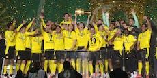 4:1 gegen Leipzig! BVB rettet mit Pokal-Sieg die Saison
