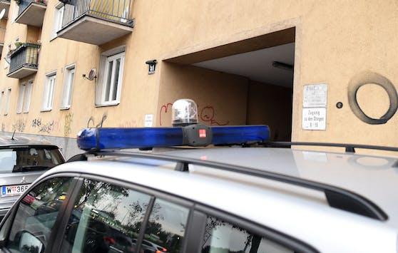 Polizeieinsatz im Bereich des Margaretengürtels. (Archivbild)