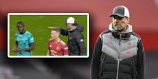 Ärger mit Klopp: Liverpool-Star verweigert Handschlag
