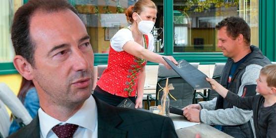 Mario Pulker ist Obmann der Gastro-Sparte in der Wirtschaftskammer.