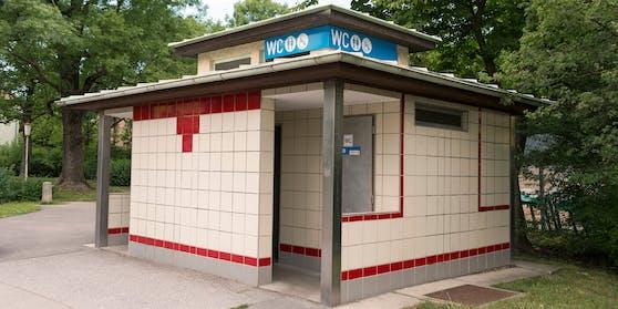 Ein öffentliches WC in Wien. (Symbolbild)