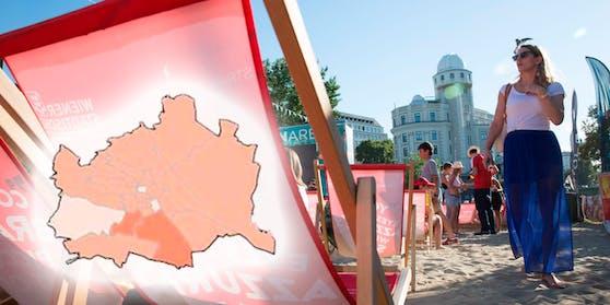Zwei Bezirke in Wien haben Corona besiegt