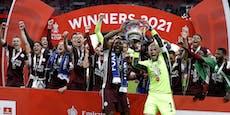 Leicester mit historischem Cup-Triumph gegen Chelsea