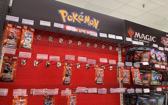 Fast alles weg: Während der Pandemie kam es zu einem Ansturm auf Pokémon-Sammelkarten.
