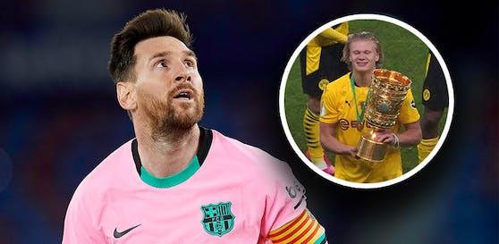Will Barca Messi loswerden, um Haaland zu holen?