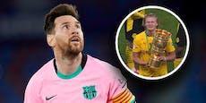 Barca-Plan: Messi loswerden, um Haaland zu holen?
