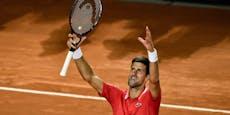 Rom hat sein Traumfinale Djokovic gegen Nadal