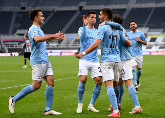 Manchester City hat auch das erste Spiel als englischer Meister gewonnen.
