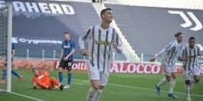 Juve schlägt Inter, bleibt im Rennen um Königsklasse