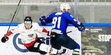 Eishockey-Nationalteam verliert zum Turnier-Auftakt