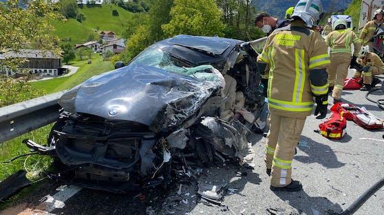 Schwerer Verkehrsunfall auf der Achenseebundesstraße