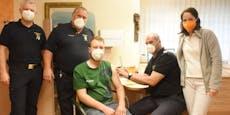 210 Florianis im Bezirk Amstetten gegen Corona geimpft