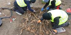 Gräber aus Napoleon-Schlacht in der Seestadt entdeckt