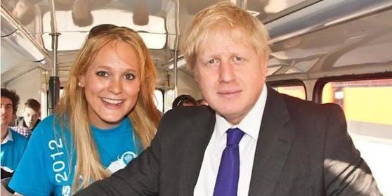 Jennifer Arcuri mit Boris Johnson