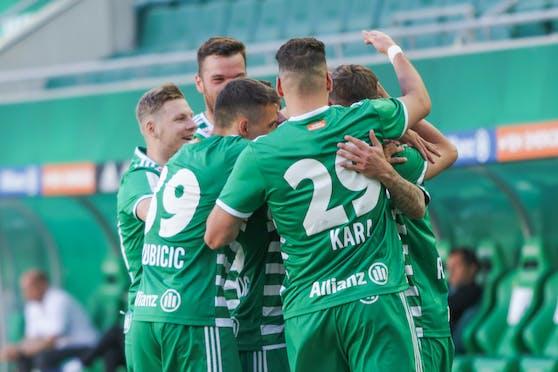 Jubelt Rapid heute gegen Sturm Graz?
