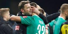 Abstiegsangst: Neuer Coach für die Bremen-Legionäre