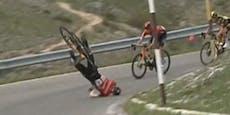 Rad-Ass muss nach schlimmen Giro-Sturz ins Spital